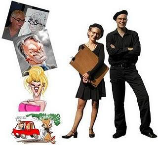 Schnellzeichner, Karikaturist, digital Cartoonist, workshop, caricaturist
