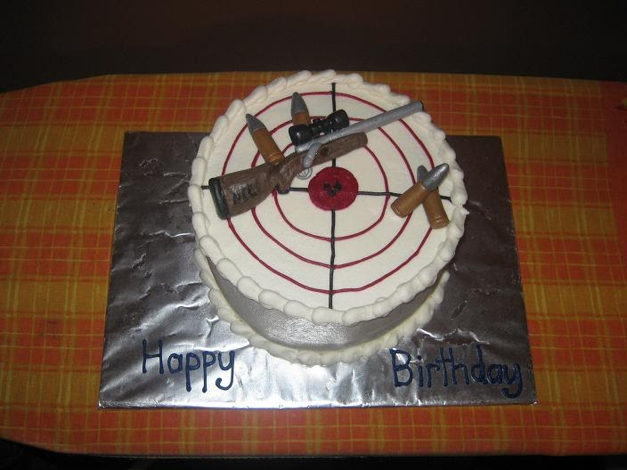 Best Cake Decorating Gun : Adam s Best Cake Decorating: Dead on Target