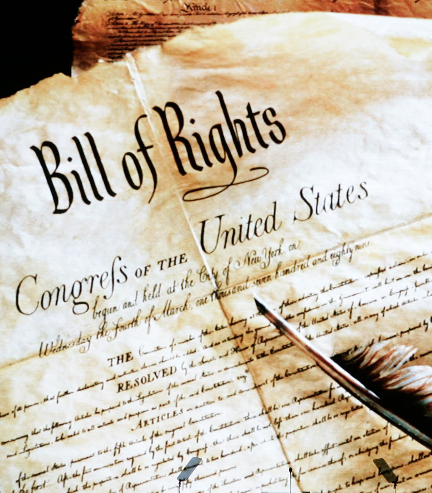 constitutional rights Amendments to the constitution of the united states of america articles in  the  enumeration in the constitution, of certain rights, shall not be construed to deny.