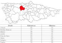 mapa de Salas