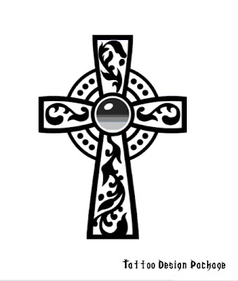 The New Cross Tattoo Designs Range From Small and Hidden to Bright,