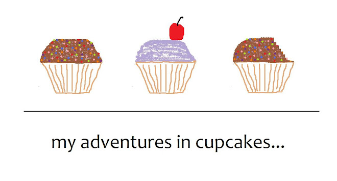 my adventures in cupcakes...