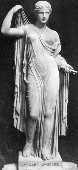 Venus, the goddess of love, is responsible for love, sex, and beauty,