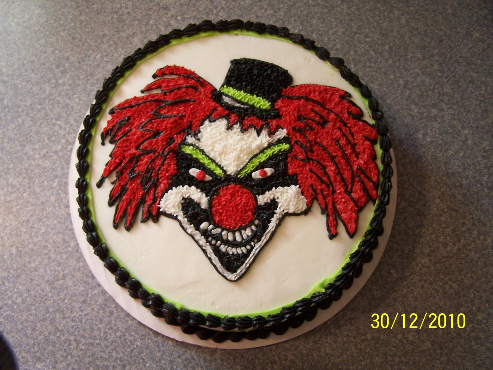 Edees Custom Cakes Clown Cake