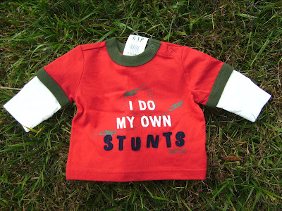 NWT Red Baby Gap Long Sleeves Shirt for 12 18 Months Toddler Boy