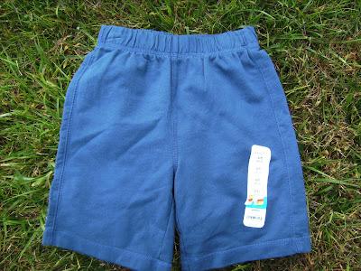 nwt royal blue boy shorts by jumping beans l 7