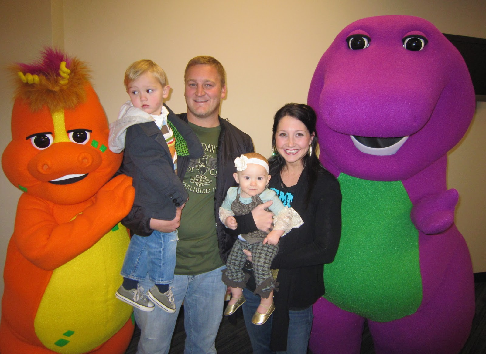 The Rollins Ruckus A Night Out With A BIG Purple Dinosaur - Barney live in concert birthday