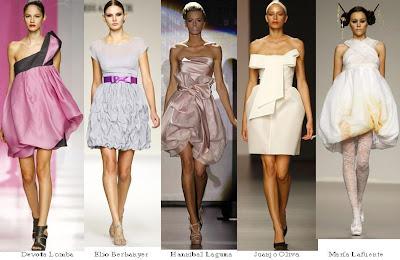 faldas globo 5 modelos