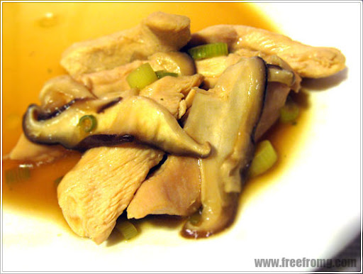 gluten free chicken in oyster sauce