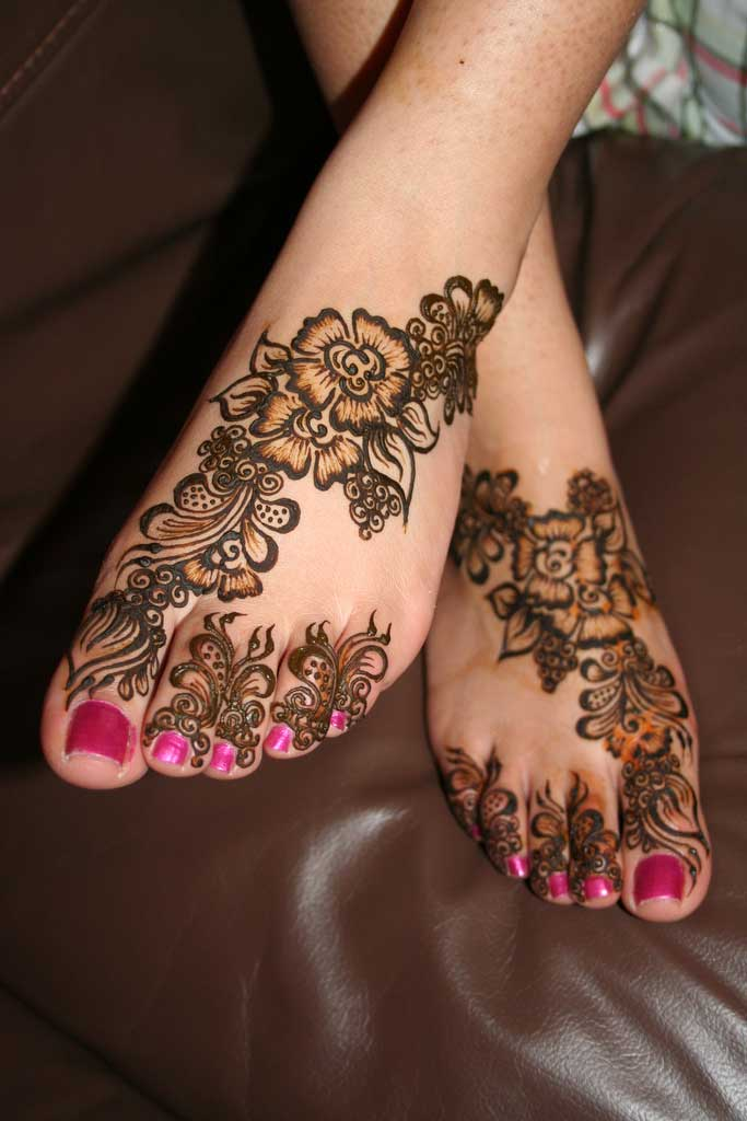 Khaleeji Henna Mehndi Design : Pakistan cricket player khaleeji henna design