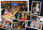 We had a good time at Chuck E Cheese with the call family.