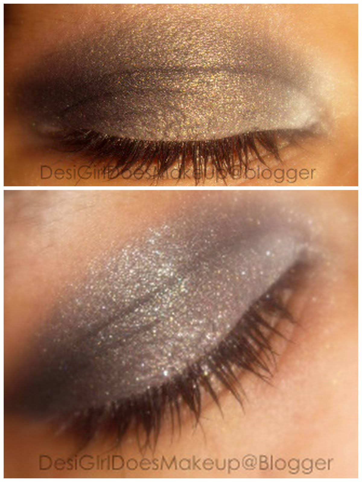 Desi Girl Does Makeup: EOTD: How to wear black eyeshadow
