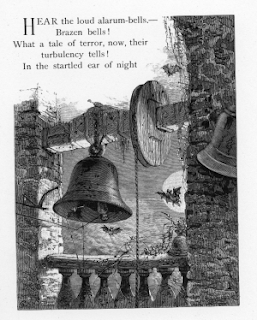 an analysis of the bells by edgar allan poe The bells by edgar allan poe poem analysis looks at the cycle of life through the  sound of ringing bells examine stages of life with poe's use of literary elements.