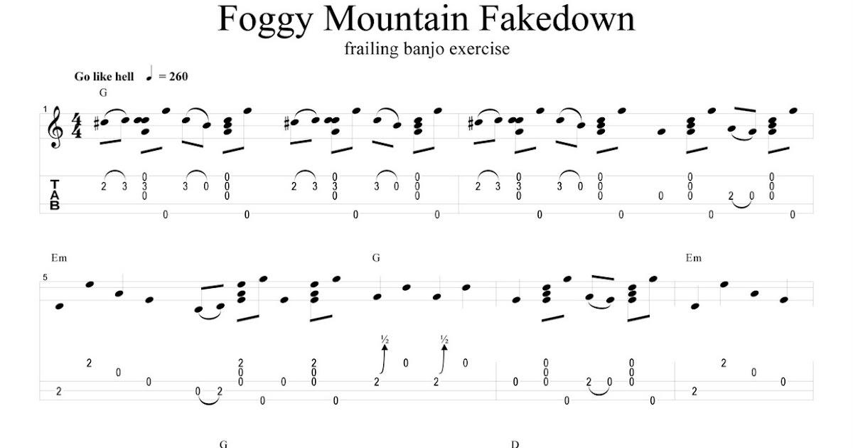 Northern Banjo Boy: Foggy Mountain Fakedown