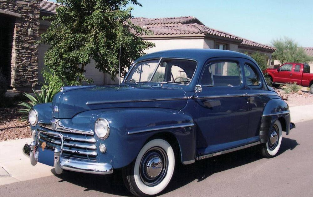 We love ford 39 s past present and future 1948 ford super for 1948 ford 2 door coupe