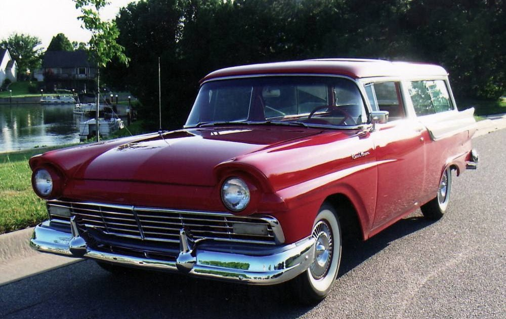 SPORT TRUCK MODIF: 1957 Ford 2-Door Ranch Wagon