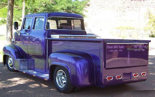 Custom 1956 Ford C750 COE Truck