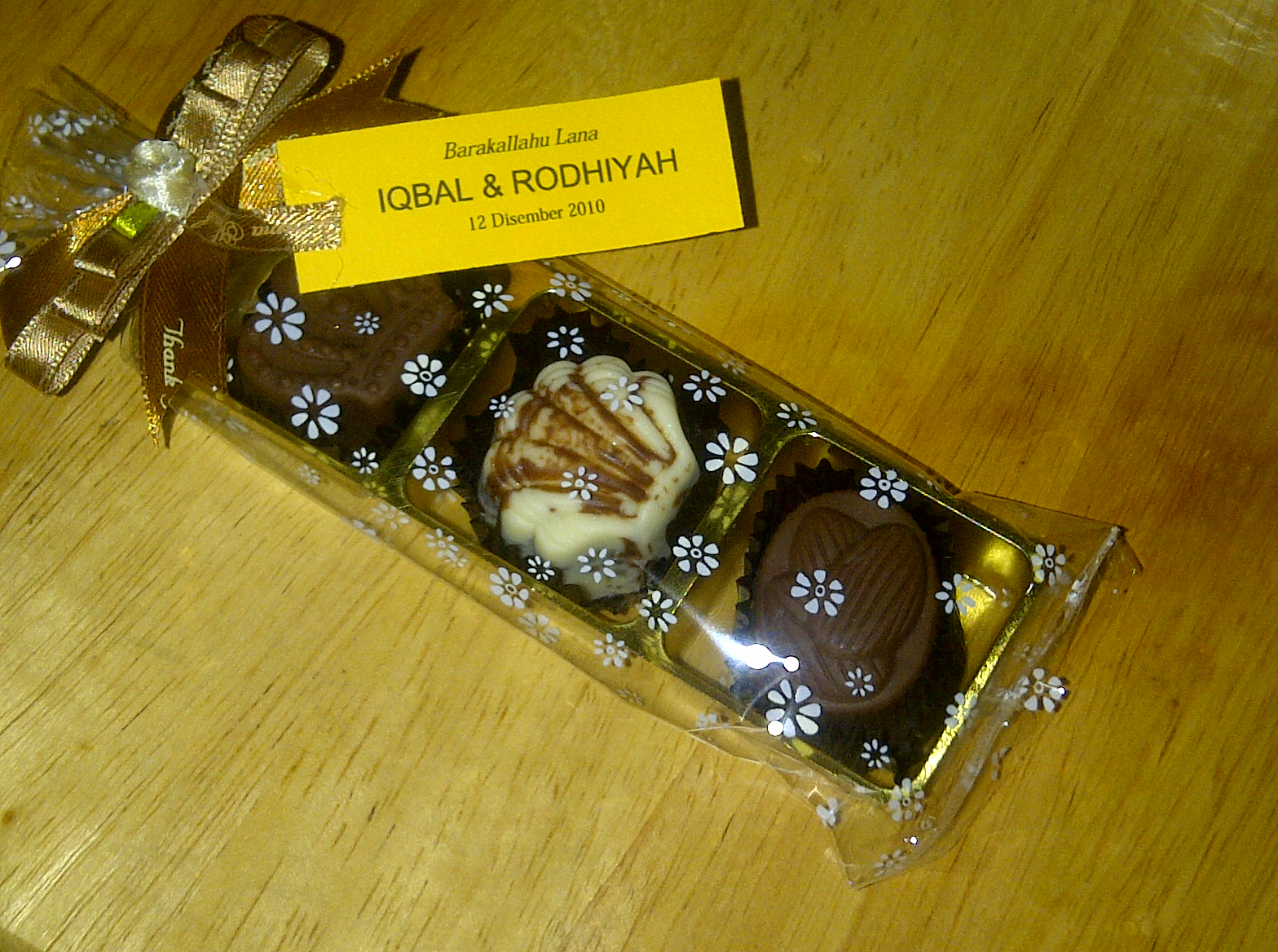 Chocolate For Wedding Door Gift : ... Delicacy: Coklat Door Gift for WeddingLocation : Bandar Baru Bangi