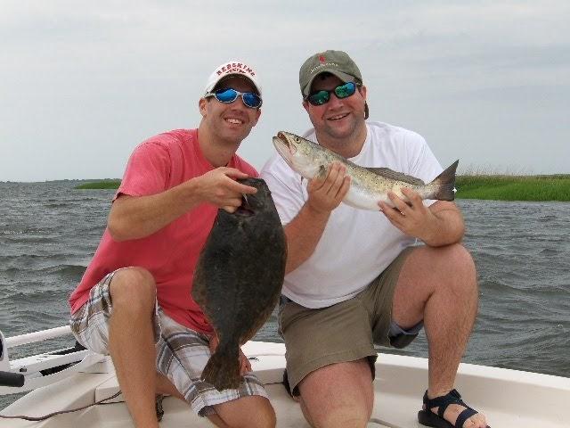 Norht carolina flounder fishing for Topsail beach fishing report