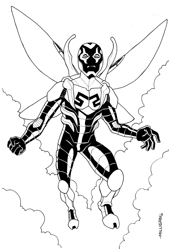 blue beetle coloring pages the new stumblebum studios blue beetle tres