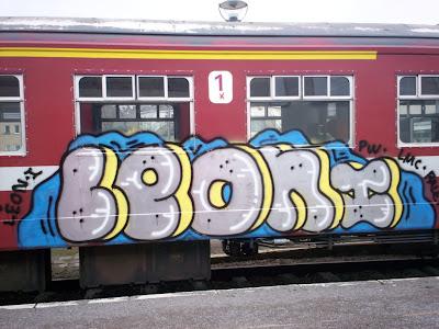 leon graffiti