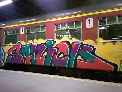 sanik sanick graffiti