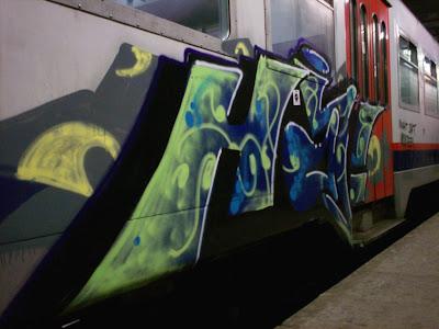 HA§ Mira graffiti