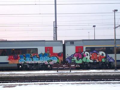 Kid Crap graffiti