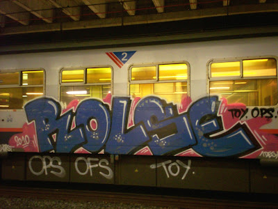 Rolse OFS OPS graffiti