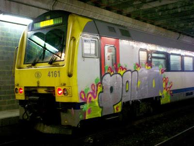 Unfinish graffiti