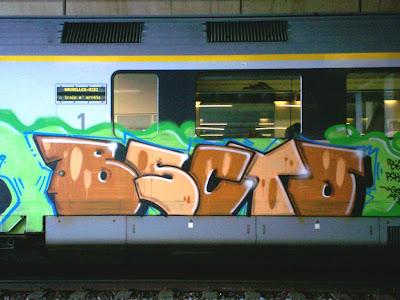 Bruxelles-Midi graffiti