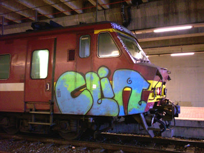 Clin graffiti artist