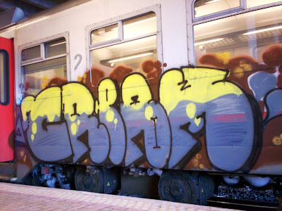 Cream graffiti art