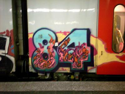 84 graffiti