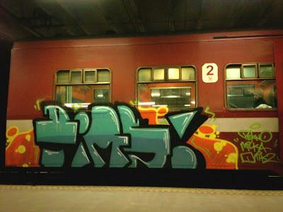 PIMS graffiti