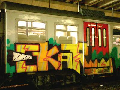 Ekar Rake graffiti