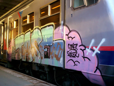 graffiti Tase