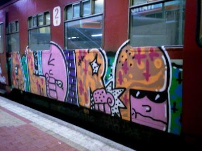 Graffiti Namur Station