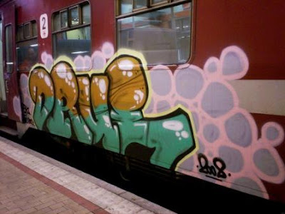 Drue psk graffiti crew