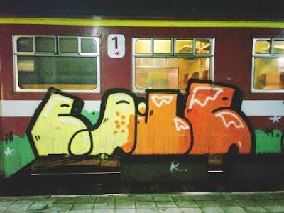 Victoire graffiti