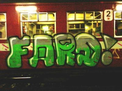 Fard railway graffiti