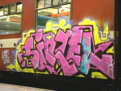 horfe graffiti