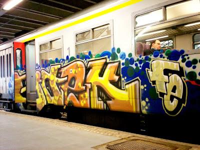 Boek graffiti