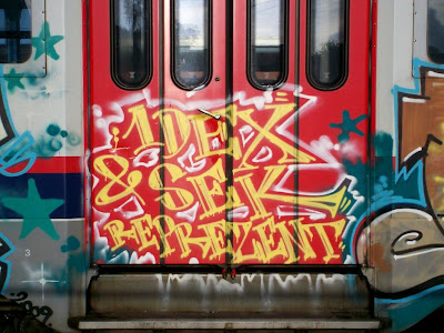 1dex Sek graffiti