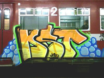 KST Crew train