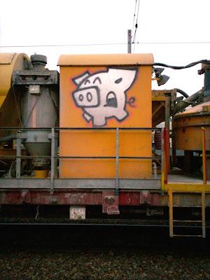 pig graffiti