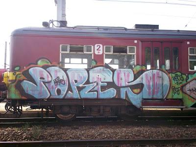 pores graffiti