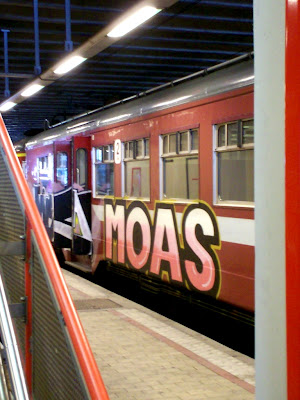 MOAS CREW MOA MONSTER OF ARTS danish graffiti crew from Copenhagen