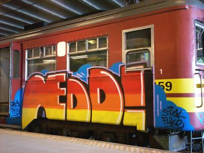 NEDD graffiti