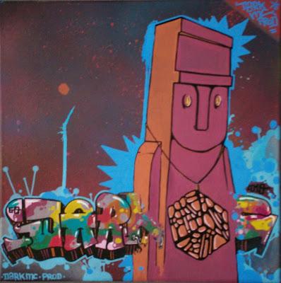 Expo graffiti Bievre Dark MC Storm